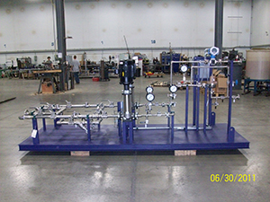 Chemical Injection Skid machine