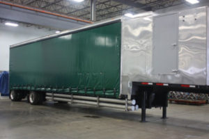 Equipment Truck hull closed